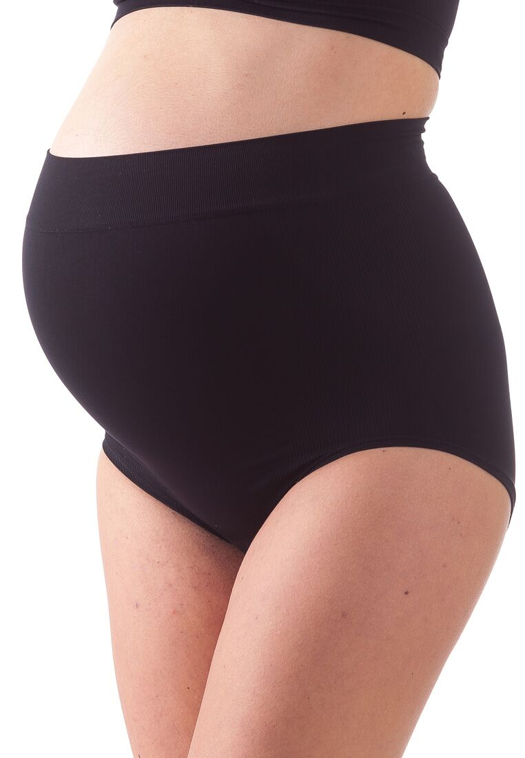 Bellissima-Women-039-s-Maternity-Over-Bump-Briefs-Light-Support-Pregnancy-Panty thumbnail 11