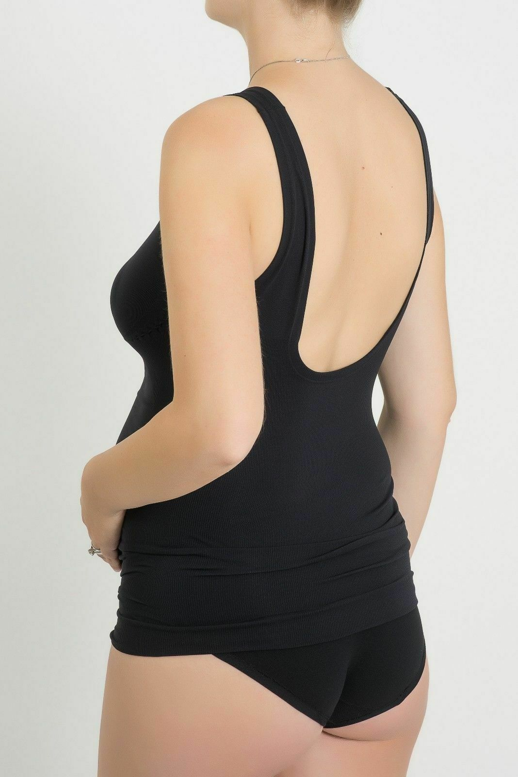 Bellissima-Women-039-s-Maternity-Tank-Top-Light-Breast-Belly-Support-Pregnancy-Cami thumbnail 22