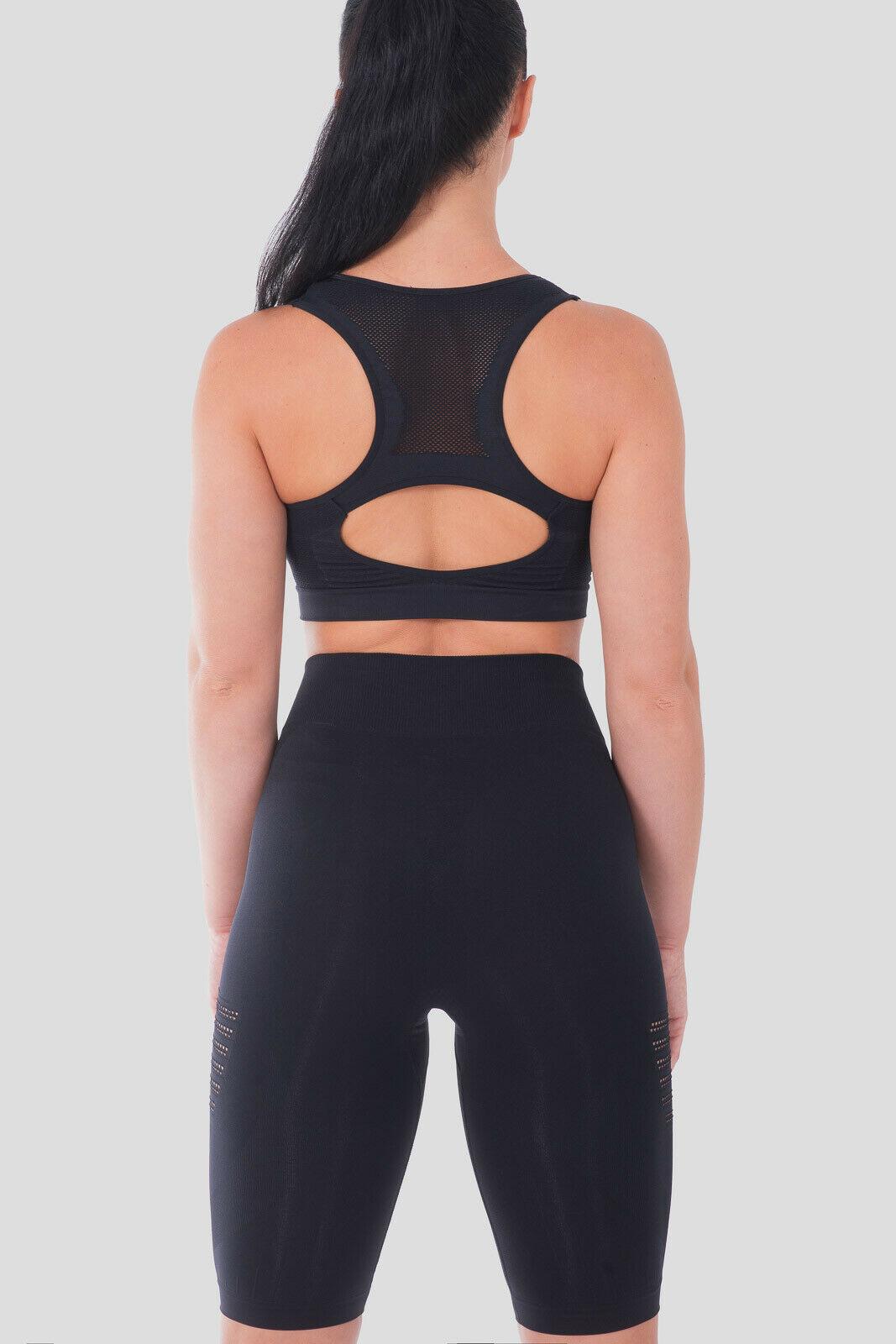 Bellissima-Women-039-s-Sport-Bra-Running-Yoga-Workout-Fitness-Racerback-Seamless thumbnail 21