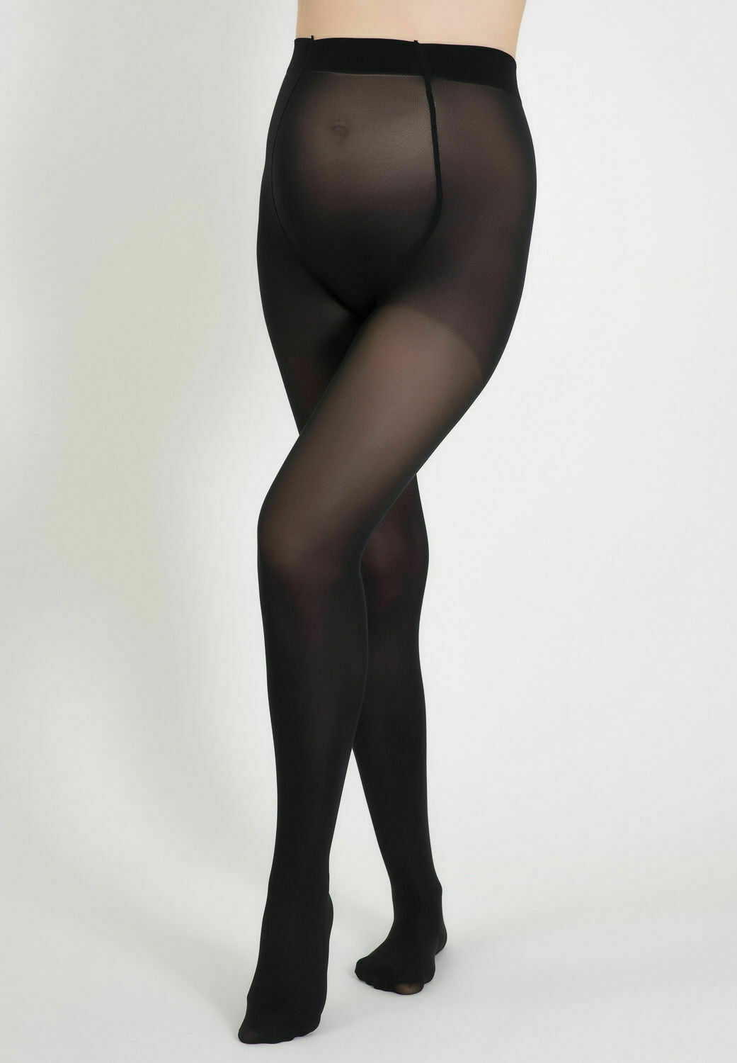 Bellissima-Women-039-s-Maternity-Tights-Black-50-den-Pregnancy-Hosiery thumbnail 7
