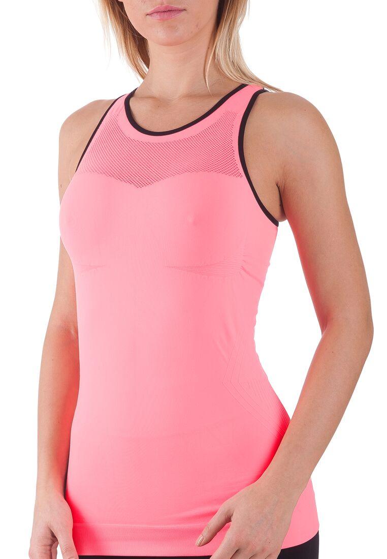 Bellissima-Women-039-s-Activewear-Tank-Top-Yoga-Running-Workout-Seamless-Sport-Tops thumbnail 12