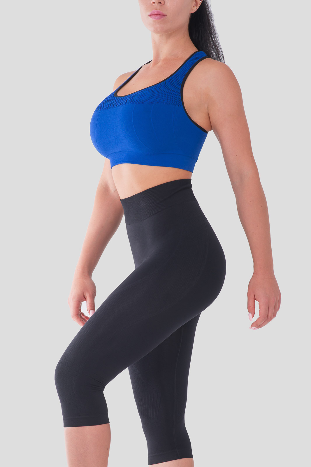 Bellissima-Women-039-s-Capri-Yoga-Pants-Seamless-High-Waisted-Workout-Leggings thumbnail 10