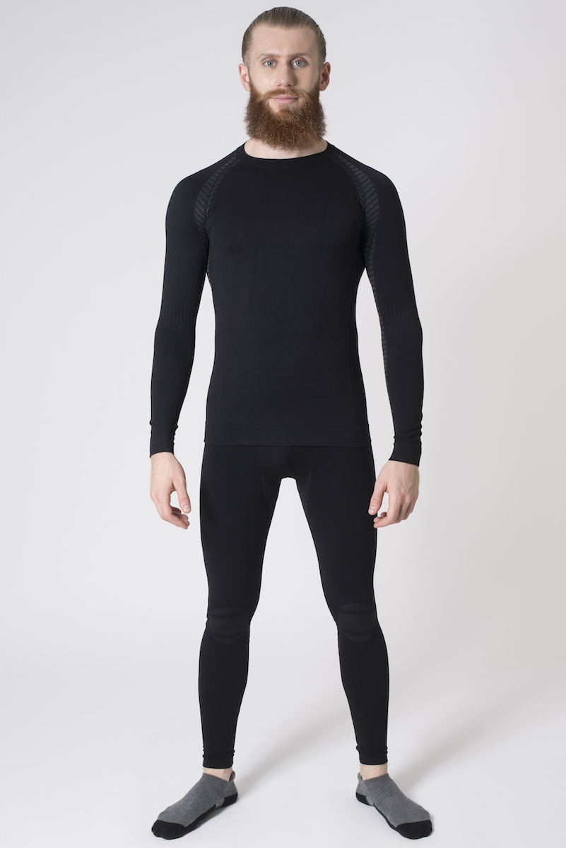 Issimo-Men-039-s-Athletic-Compression-Long-Sleeve-Shirt-Moisture-Wicking-Top thumbnail 7