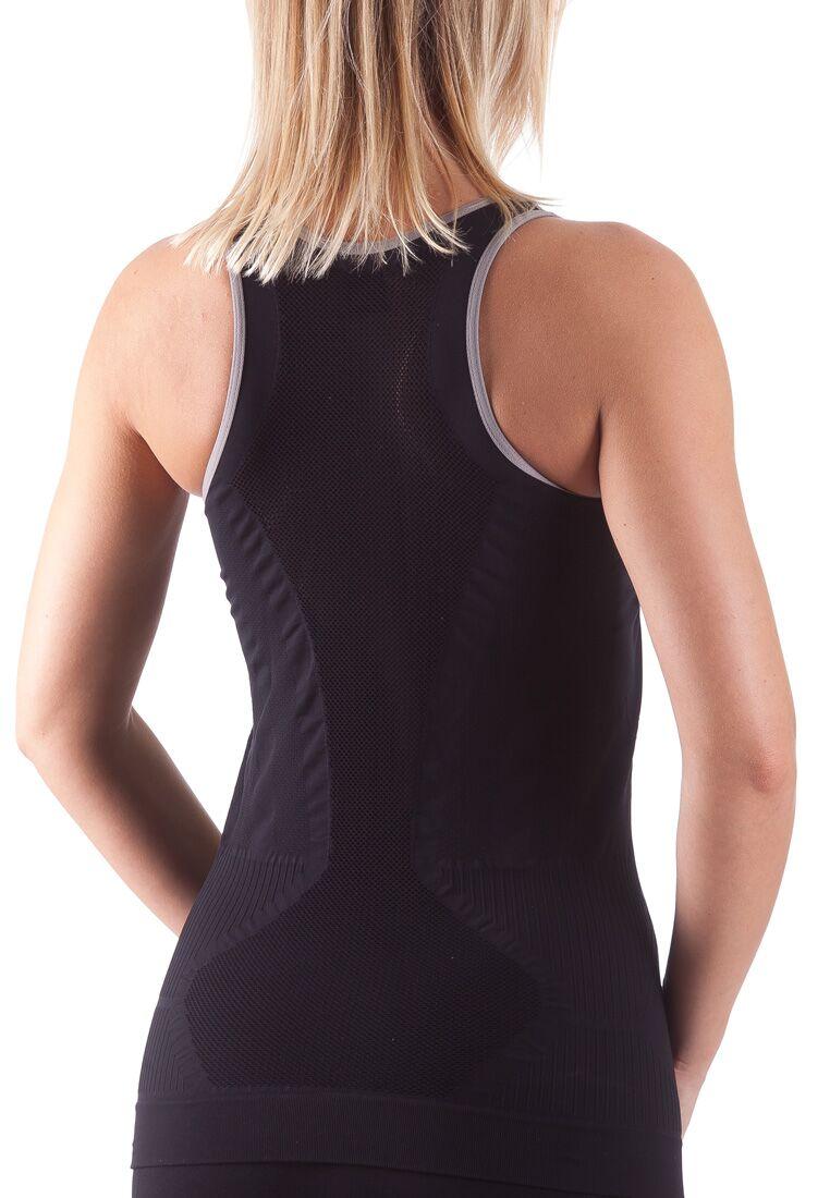 Bellissima-Women-039-s-Activewear-Tank-Top-Yoga-Running-Workout-Seamless-Sport-Tops thumbnail 33