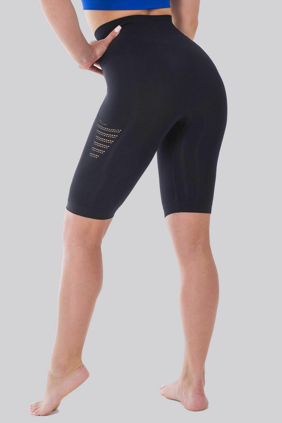 Bellissima-Women-039-s-Compression-Sport-Yoga-Shorts-High-Waist-Workout-Running thumbnail 11