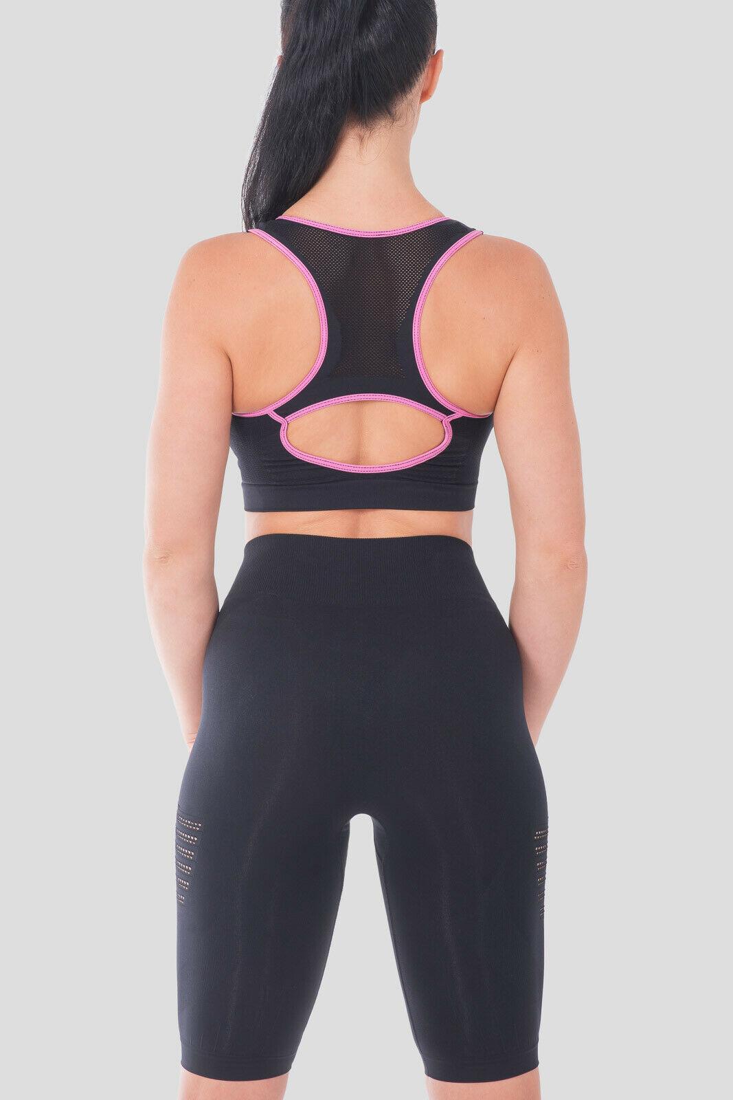 Bellissima-Women-039-s-Sport-Bra-Running-Yoga-Workout-Fitness-Racerback-Seamless thumbnail 33