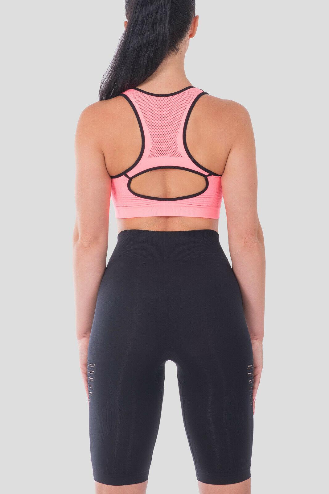 Bellissima-Women-039-s-Sport-Bra-Running-Yoga-Workout-Fitness-Racerback-Seamless thumbnail 57