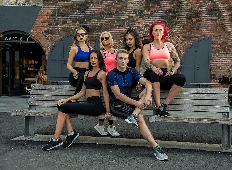 Bellissima-Women-039-s-Sport-Bra-Running-Yoga-Workout-Fitness-Racerback-Seamless thumbnail 58