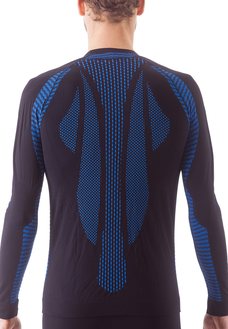 Issimo-Men-039-s-Athletic-Compression-Long-Sleeve-Shirt-Moisture-Wicking-Top thumbnail 16