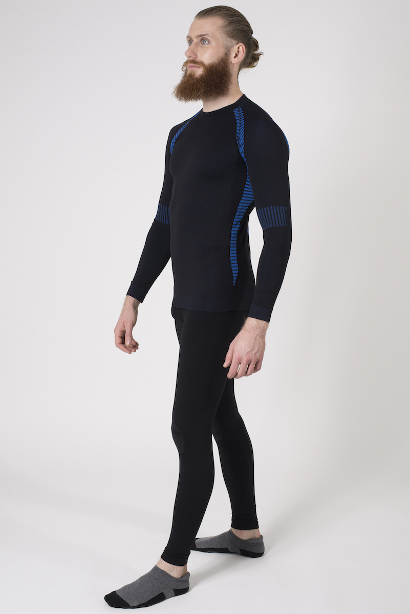 Issimo-Men-039-s-Athletic-Compression-Long-Sleeve-Shirt-Moisture-Wicking-Top thumbnail 18