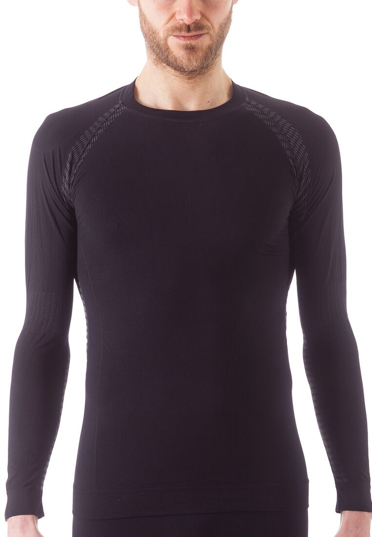 Issimo-Men-039-s-Athletic-Compression-Long-Sleeve-Shirt-Moisture-Wicking-Top thumbnail 10