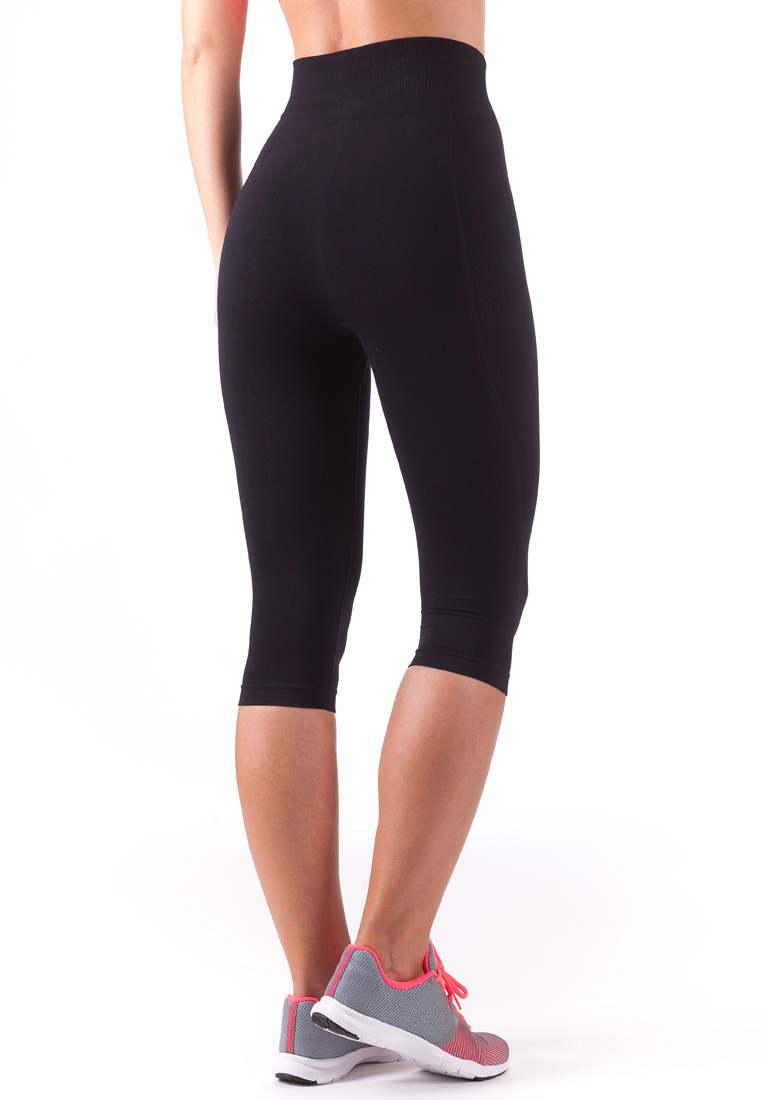 Bellissima-Women-039-s-Capri-Yoga-Pants-Seamless-High-Waisted-Workout-Leggings thumbnail 20