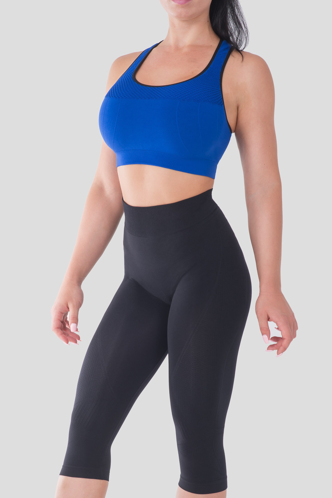 Bellissima-Women-039-s-Capri-Yoga-Pants-Seamless-High-Waisted-Workout-Leggings thumbnail 21