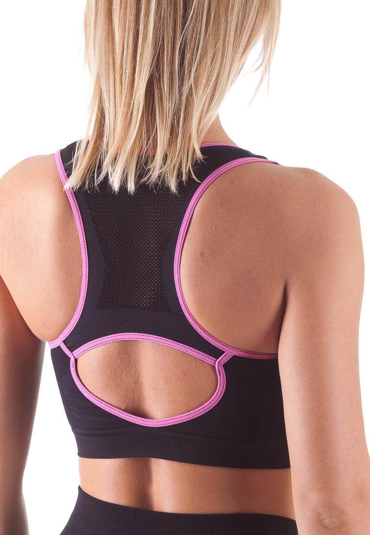 Bellissima-Women-039-s-Sport-Bra-Running-Yoga-Workout-Fitness-Racerback-Seamless thumbnail 36
