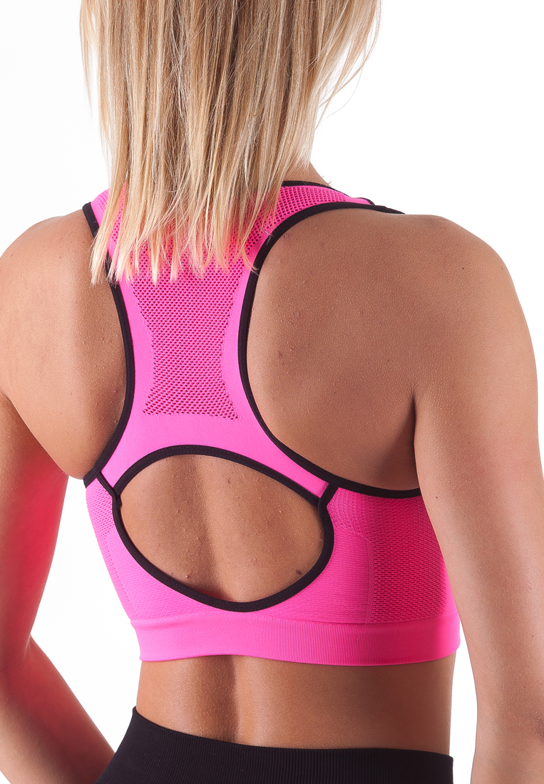 Bellissima-Women-039-s-Sport-Bra-Running-Yoga-Workout-Fitness-Racerback-Seamless thumbnail 48