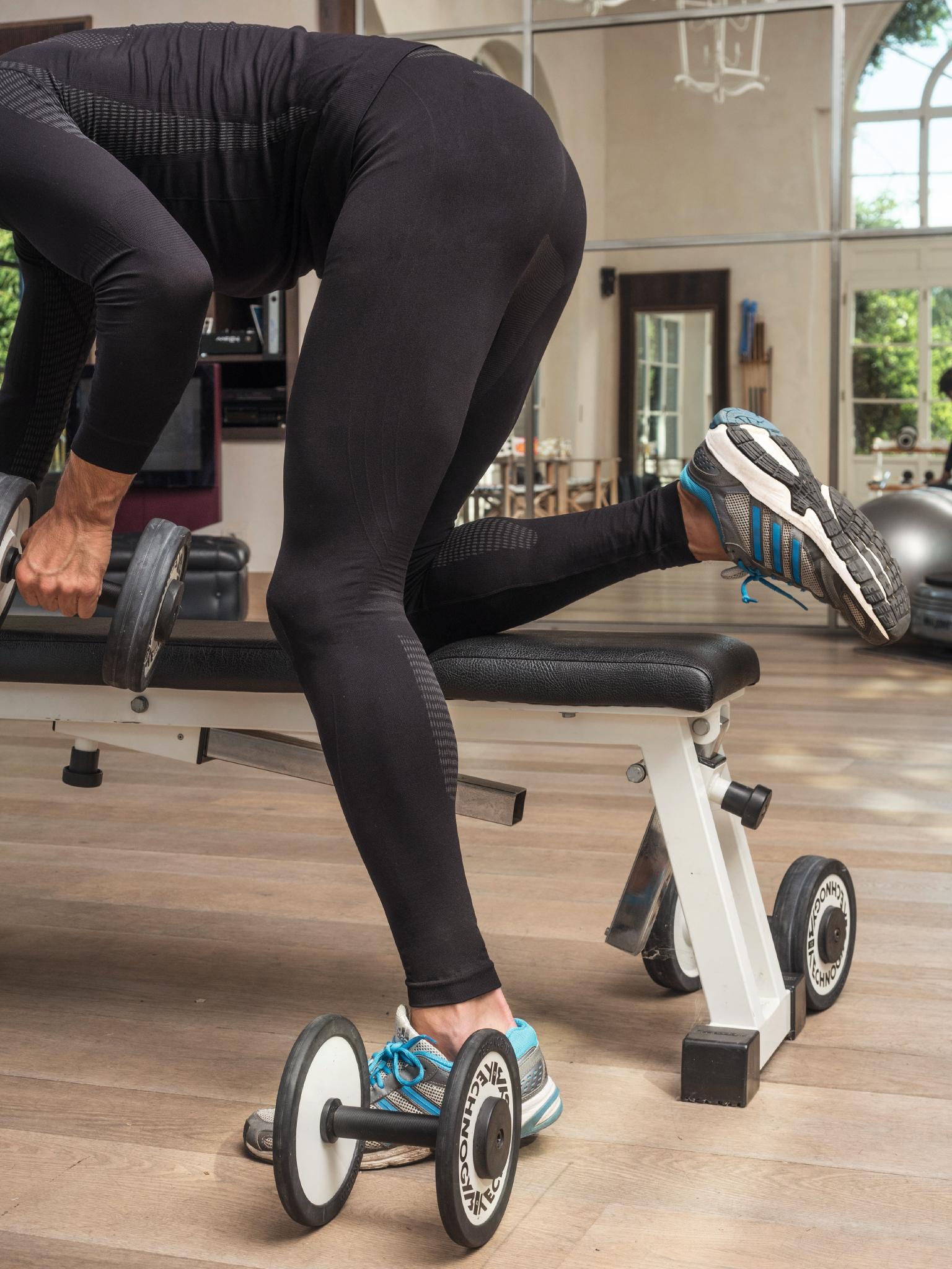 Issimo-Men-039-s-Sports-Stretchy-Leggings-Moisture-Wicking-Training-Pants thumbnail 11