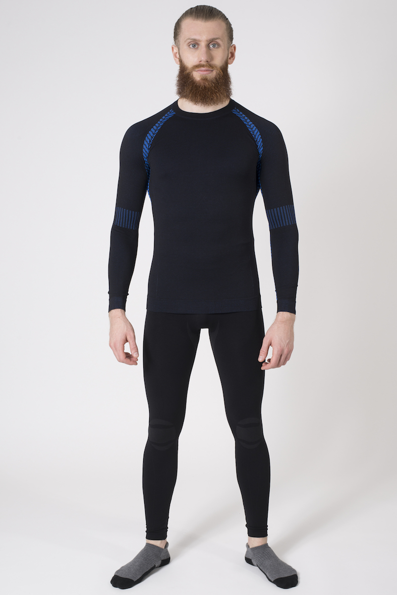 Issimo-Men-039-s-Athletic-Compression-Long-Sleeve-Shirt-Moisture-Wicking-Top thumbnail 22
