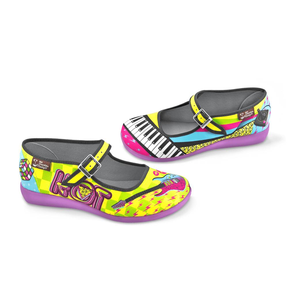 Hot Chocolate Design Women's Mary Jane Flat shoes Chocolaticas Chocolaticas Chocolaticas New Wave f74bc5