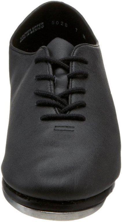 LEO/'s 5028 Giodano Jazz Tap BLACK dance shoe Tie up  3M  LEO