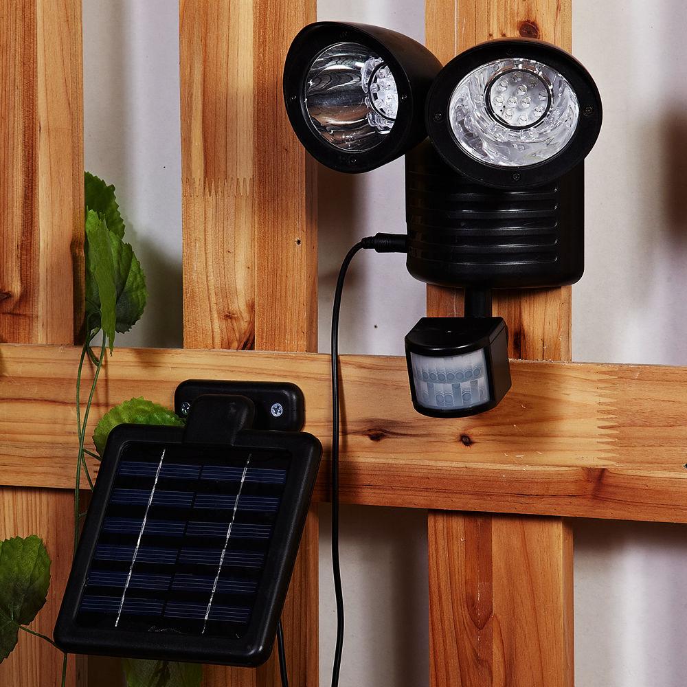 22 LED Solar Powered Motion Sensor PIR Security Light