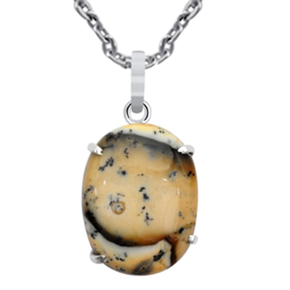 925-Sterling-Silver-39-Carat-Jasper-Gemstone-Amazing-Pendant-By-Orchid-jewelry
