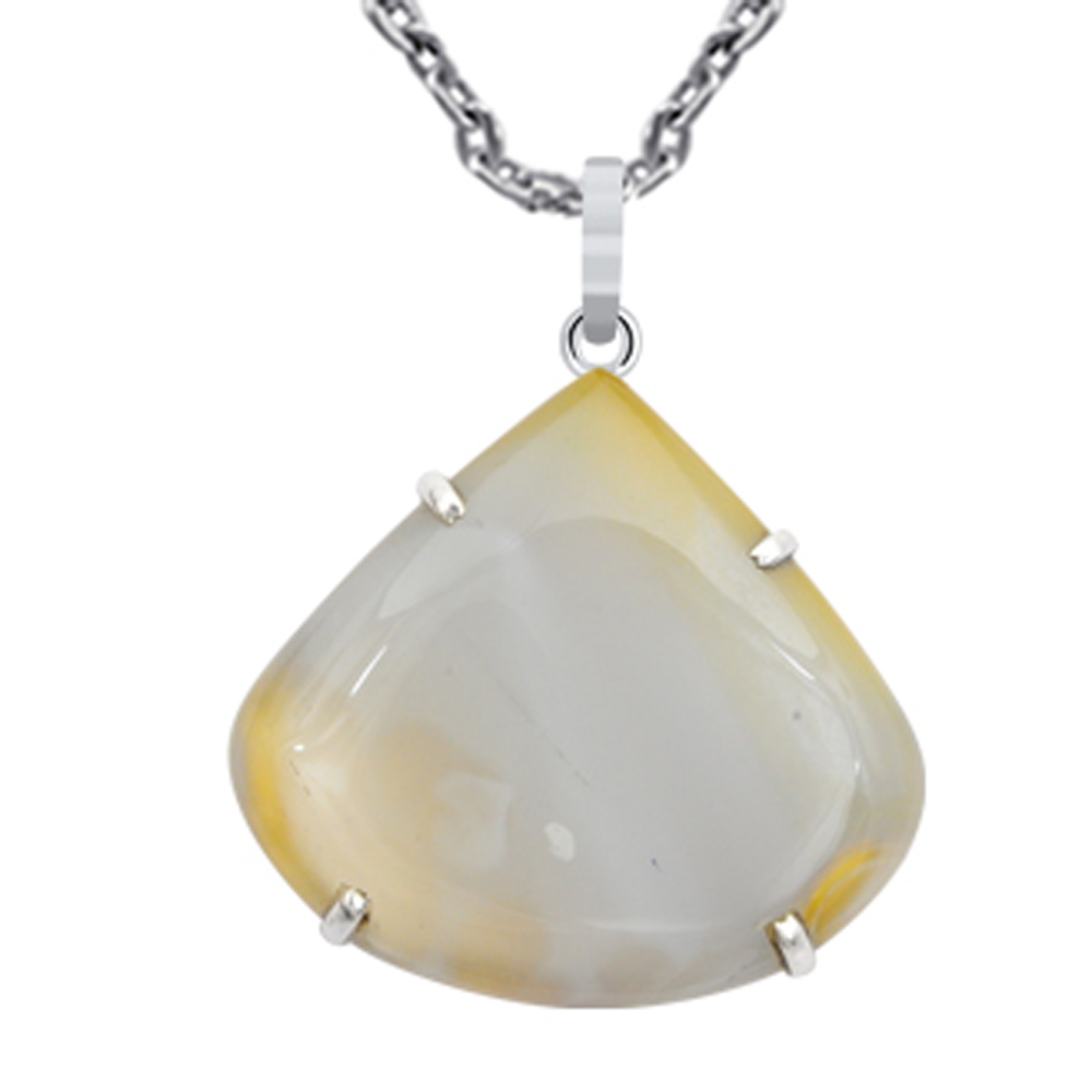 925-Sterling-Silver-80-Carat-Blue-Lace-Agate-Amazing-Pendant-By-Orchid-jewelry
