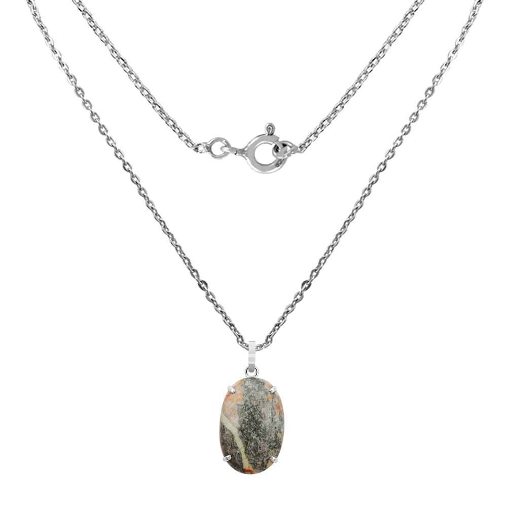 40-0-Ct-Oval-Cut-Ocean-Jasper-925-Sterling-Silver-Charm-Pendant-Gift-Jewelry-24 thumbnail 2