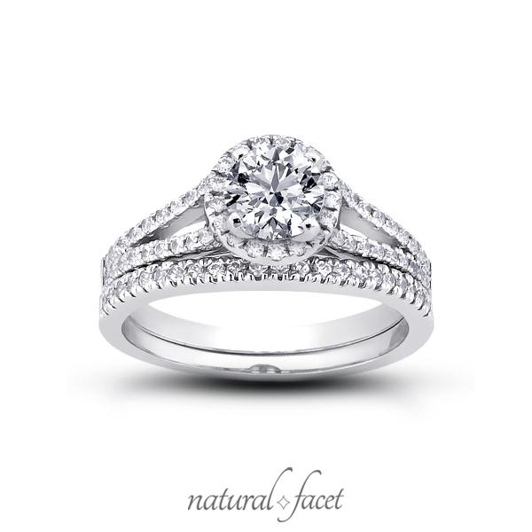 0-94ct-D-VVS1-Ideal-Round-Diamonds-Platinum-Cathedral-Split-Shank-Ring-Set-4-2mm