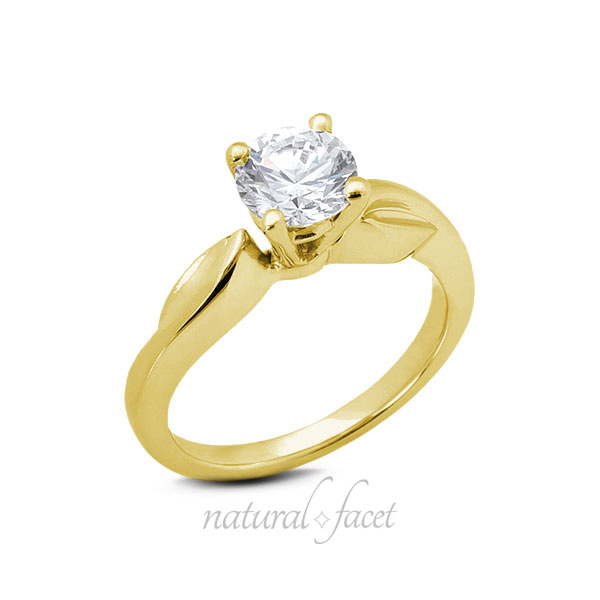 0-71ct-F-VS2-Ideal-Round-Natural-Diamond-Yellow-Gold-Engraved-Basket-Ring-4-2mm thumbnail 3