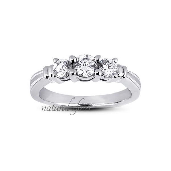 0.41ct tw D VVS1 Ideal Round Diamonds 14k gold Vintage Basket Wedding Ring 2.4mm