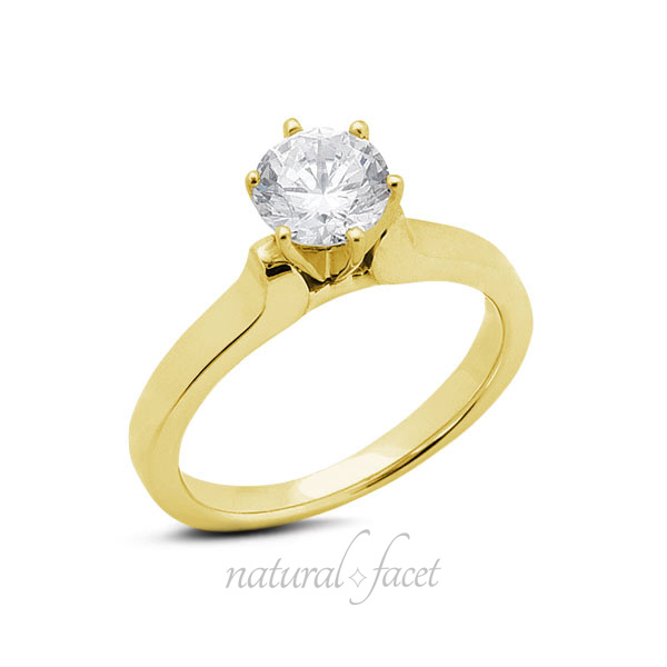 0-66-CT-F-VS2-Ideal-Round-AGI-Certified-Diamond-Yellow-Gold-Classic-Ring-4-6mm
