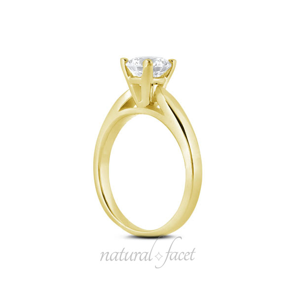 0-80-CT-J-VS2-Ideal-Round-AGI-Certify-Diamond-Yellow-Gold-Cathedral-Ring-5-2mm