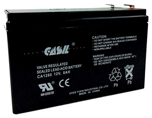 Mighty Max Battery 12V 8Ah Compatible for APC Back-UPS Pro 420,BP420IPNP,BP420S 4 Pack Brand Product