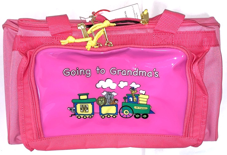 865fa14f780c Details about Mercury Luggage Going to Grandma's Pink Childrens Duffle Bag