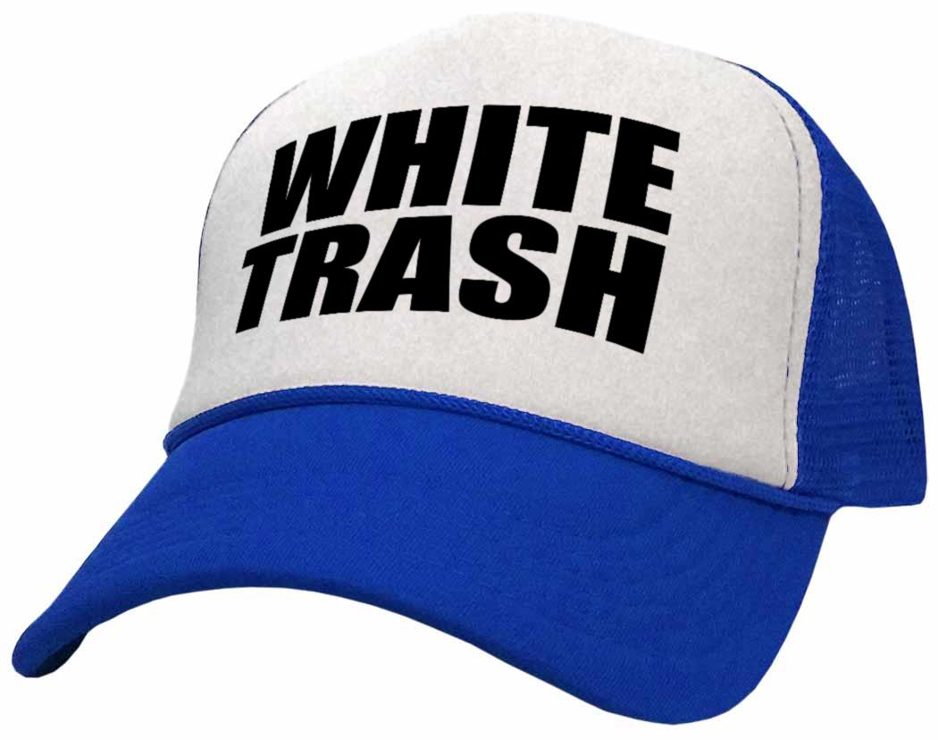 Womens /& Mens Trucker Caps,Red Neck White Trash Blue Collar Adjustable Hip Hop Flat Brim Baseball Hat