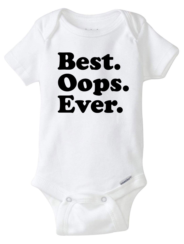 CUTE One Piece Baby Bodysuit BEST OOPS EVER