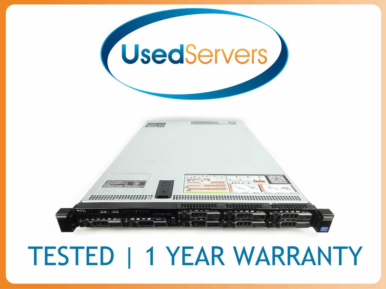 Dell Poweredge R620 Server   2x 8C 2 2GHZ   64GB   8x 480GB SSD