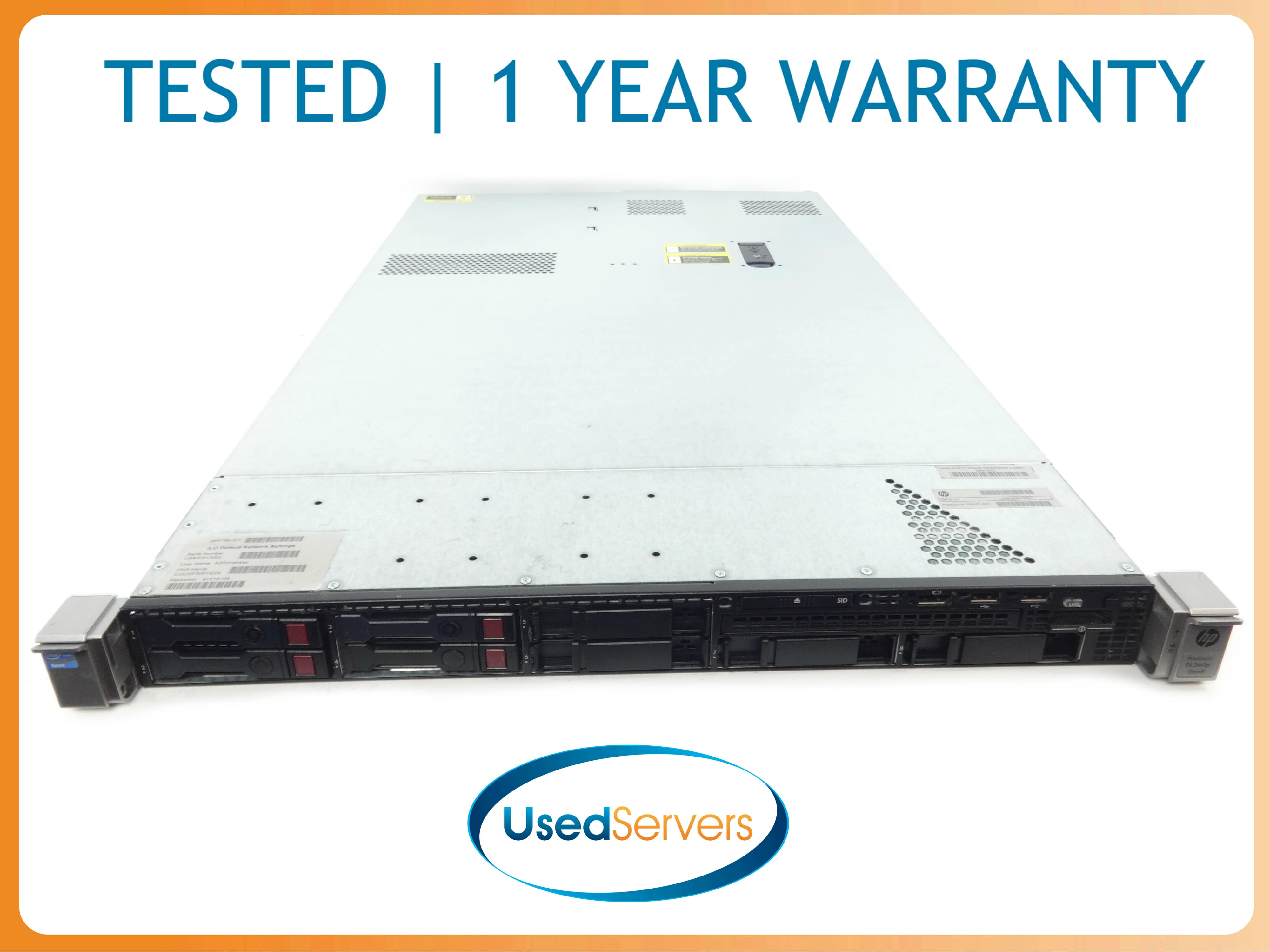 12GB RAM DUAL POWER IBM 7944-AC1 X3550 M3 2x E5530 2.4GHZ//8MB RAILS