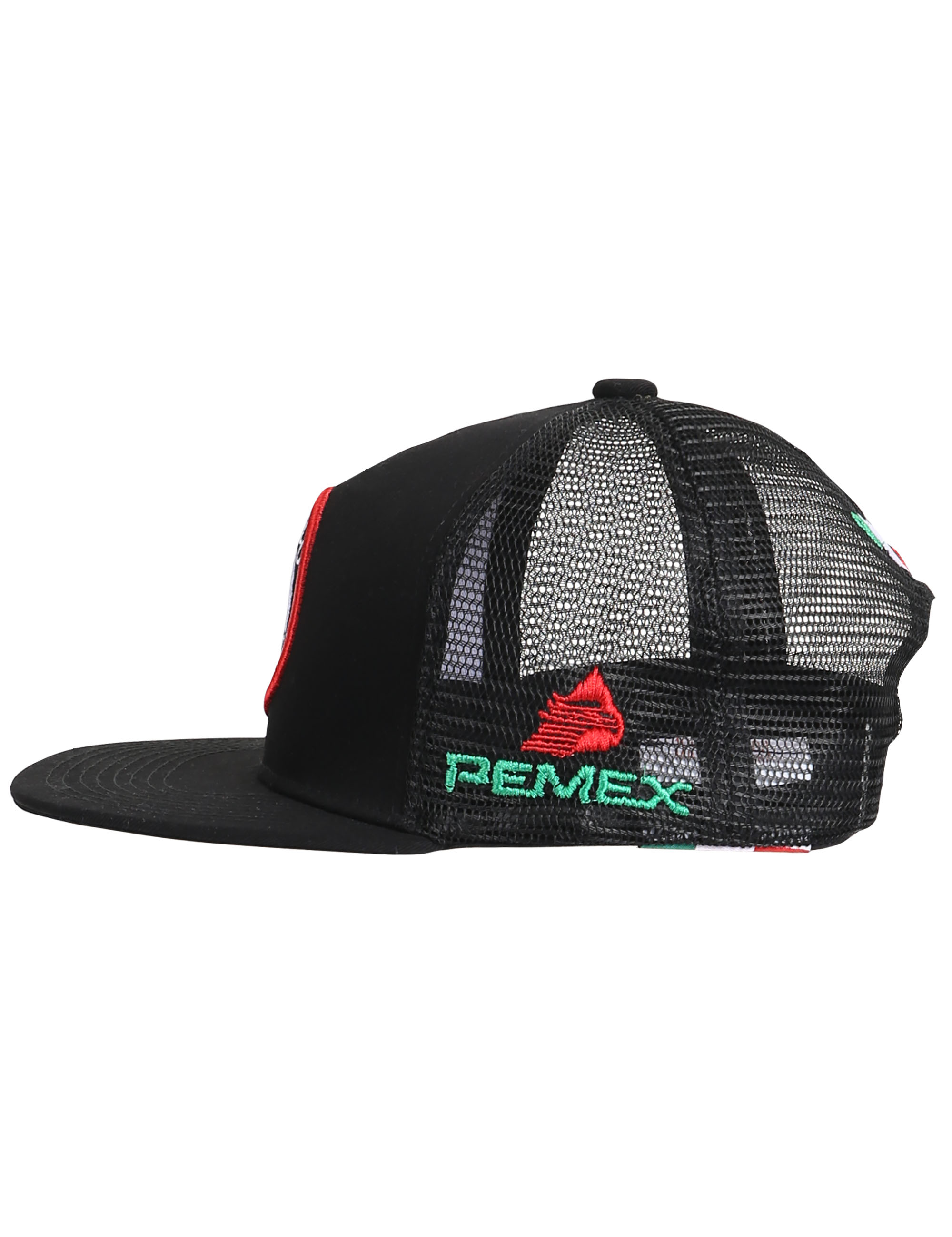 0e57c7a9a0e6 Escudo de Mexico Mesh Trucker Hat Embroidered Gorras Cachuchas Para ...