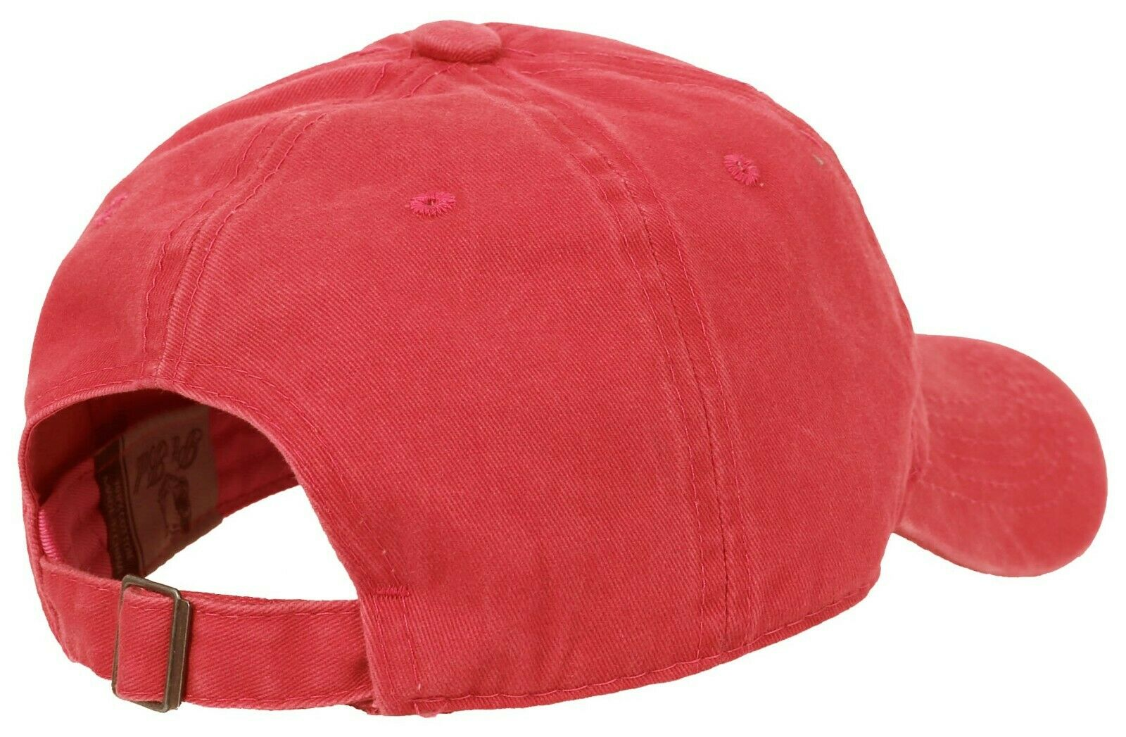 BASEBALL-CAP-Plain-Dad-Hat-Low-Profile-Vintage-Washed-Pigment-Adjustable thumbnail 17