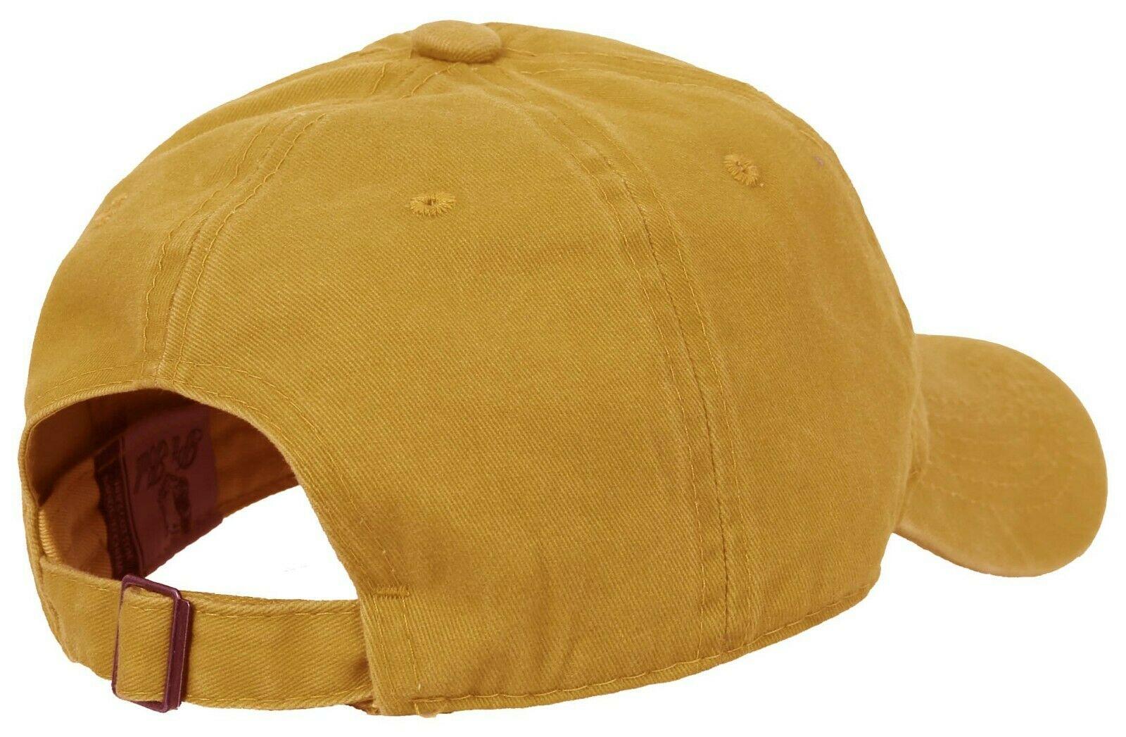 BASEBALL-CAP-Plain-Dad-Hat-Low-Profile-Vintage-Washed-Pigment-Adjustable thumbnail 25