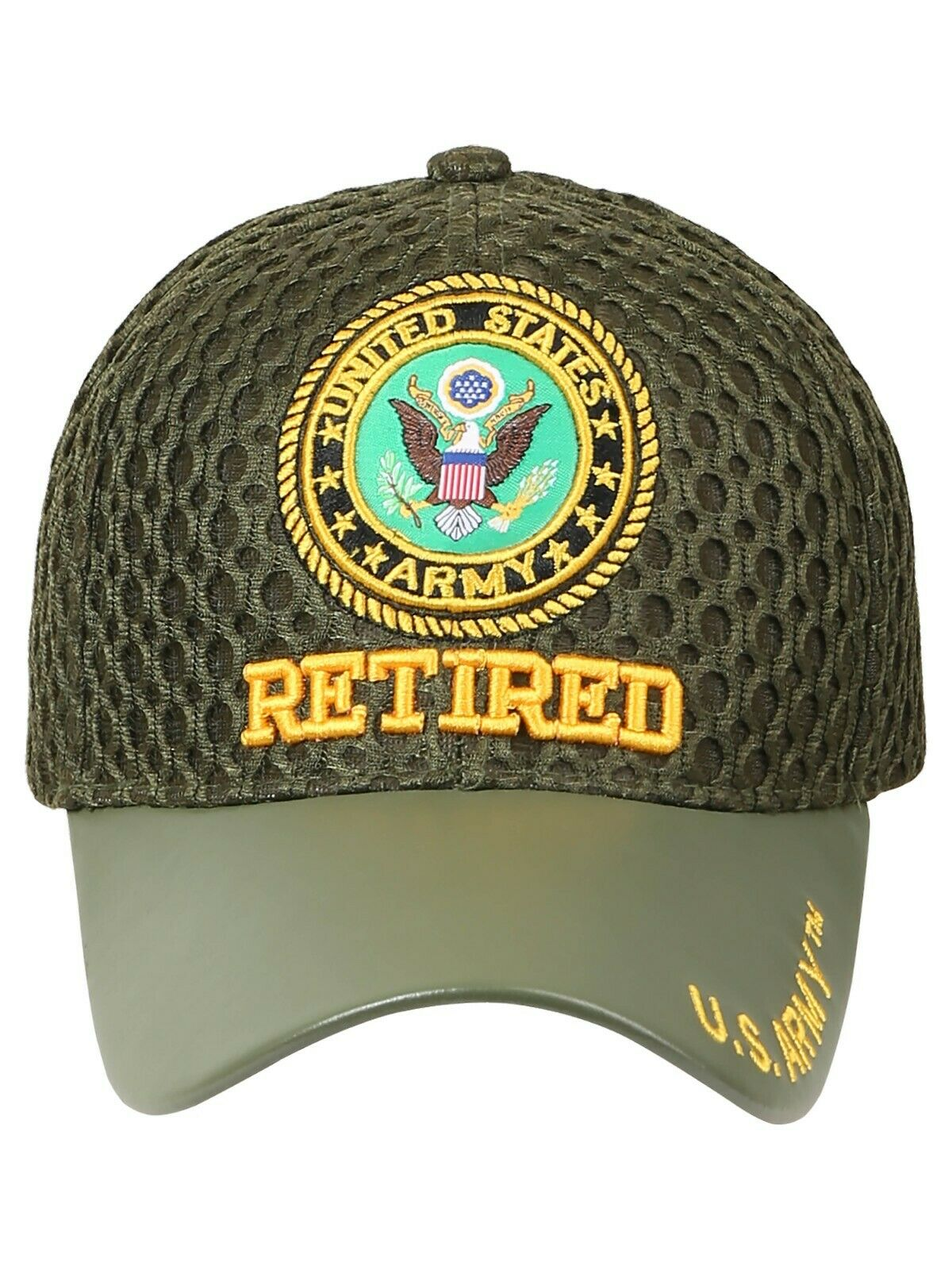 2e3900d3c Details about US Army Veteran Hats Military Cap Air Force Retired Vietnam  War Disabled