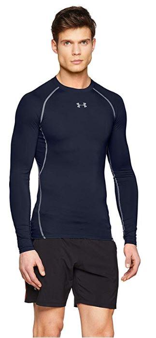 Under-Armour-Men-039-s-HeatGear-Armour-Long-Sleeve-Compression-Shirt thumbnail 12