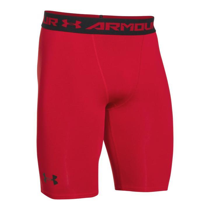 Under-Armour-Men-039-s-HeatGear-Armour-Compression-Shorts-Long thumbnail 4