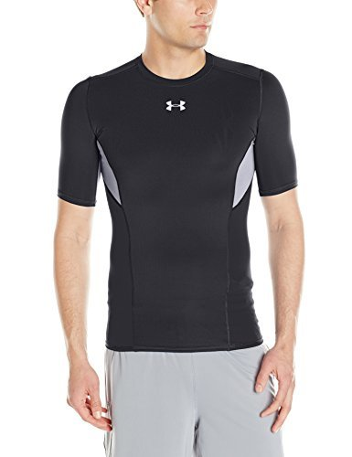 Under-Armour-Men-039-s-coolswitch-a-Manches-Courtes-Compression-Shirt miniature 5
