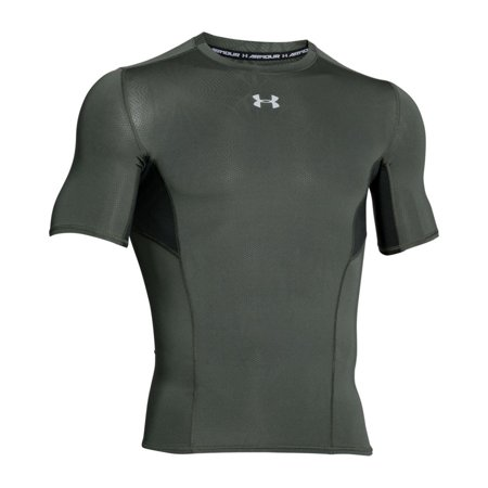 Under-Armour-Men-039-s-coolswitch-a-Manches-Courtes-Compression-Shirt miniature 16
