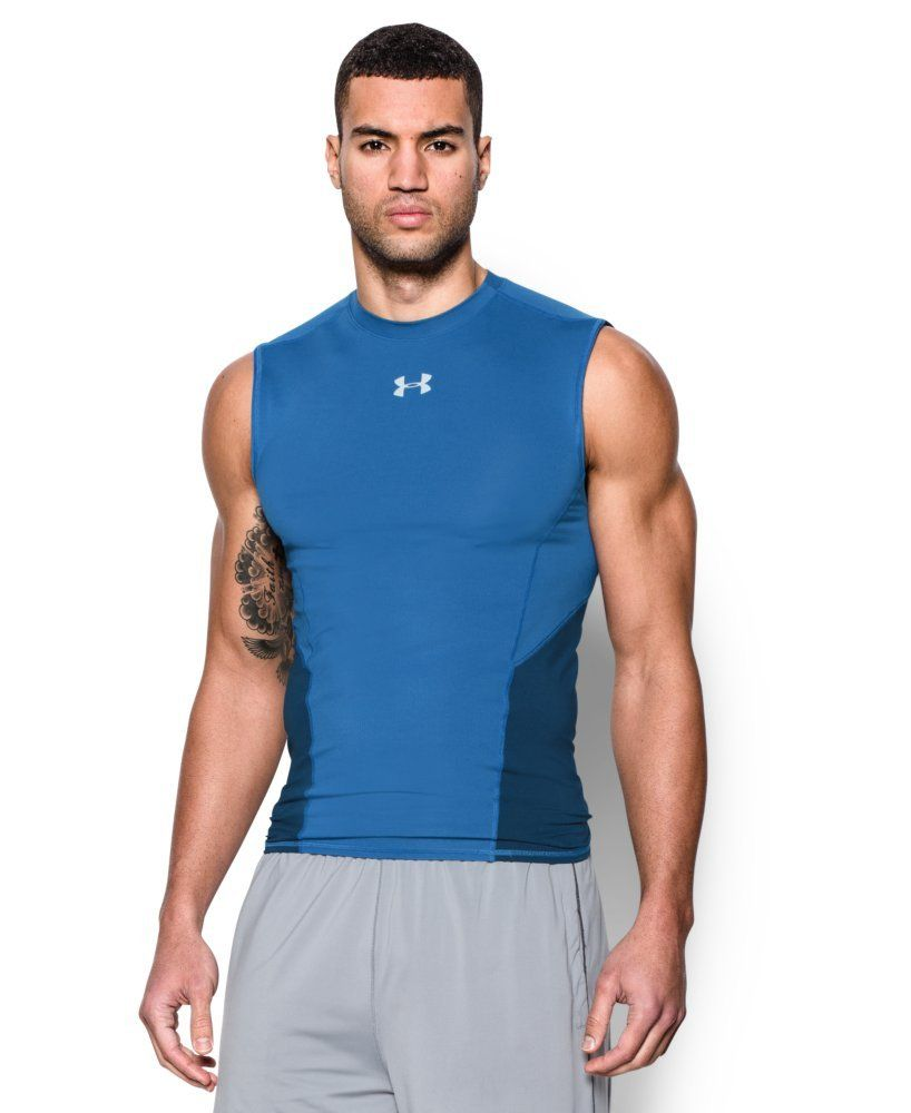 Under-Armour-Men-039-s-UA-CoolSwitch-Sleeveless-Compression-Shirt thumbnail 18