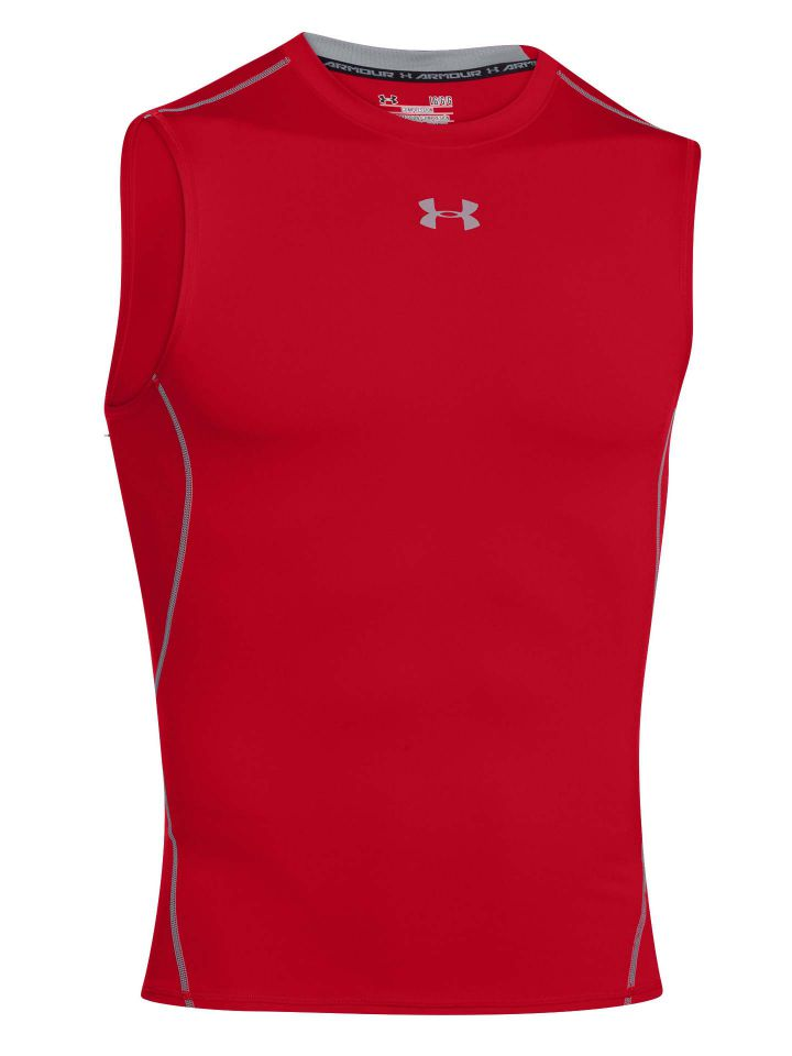 Under-Armour-Men-039-s-UA-CoolSwitch-Sleeveless-Compression-Shirt thumbnail 22