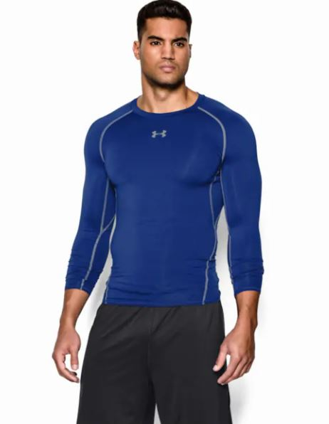 Under-Armour-Men-039-s-CoolSwitch-Long-Sleeve-Compression-Shirt thumbnail 7