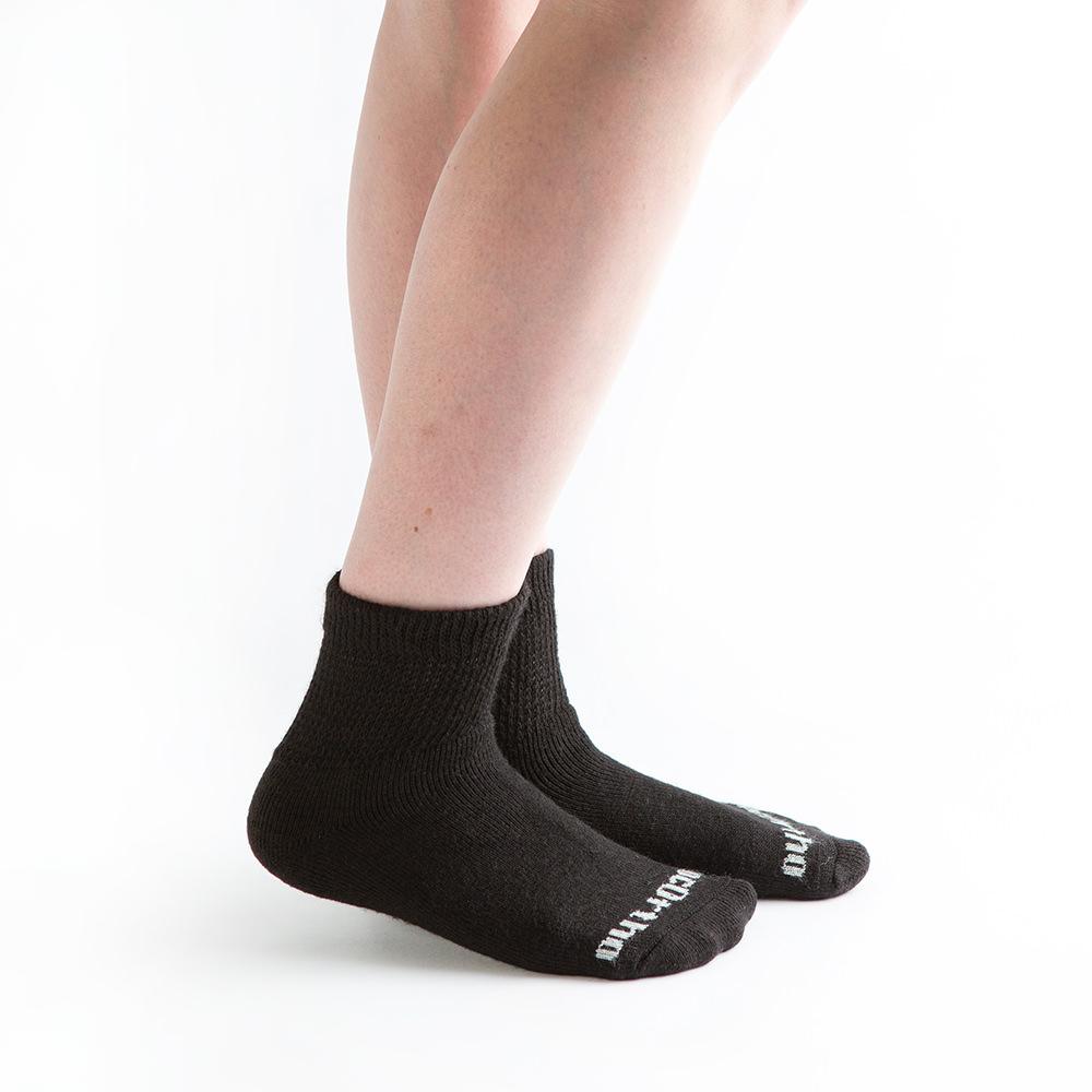 Drymax Cycle 1//4 Crew Socks White 3 Pair